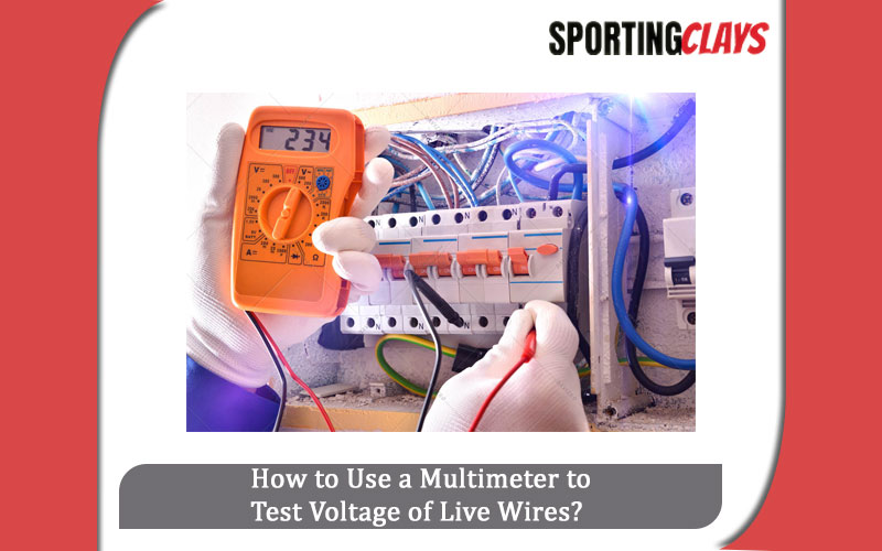 Multimeter to Test Voltage of Live Wires